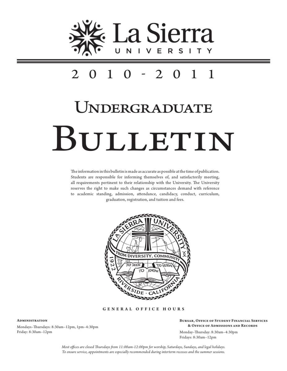 8c2752f5485ea0 Undergraduate Bulletins