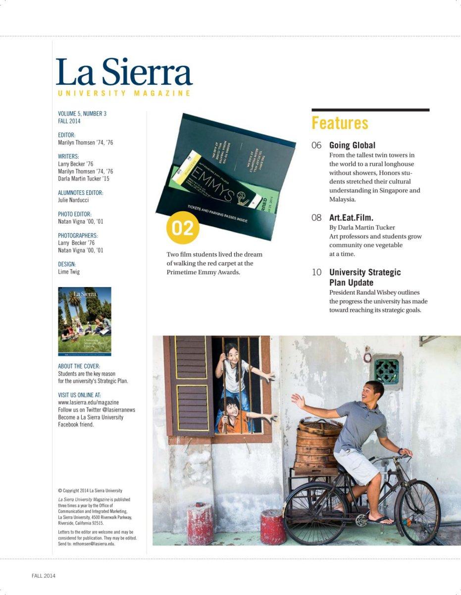 Phenomenal La Sierra University Magazine Machost Co Dining Chair Design Ideas Machostcouk